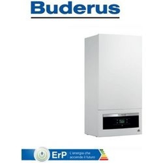 Buderus Logamax Plus GB062 24KD H V2 Επίτοιχος Λέβητας Συμπύκνωσης Αερίου με Προστατευτικό Κάλυμμα JB χωρίς καμινάδα