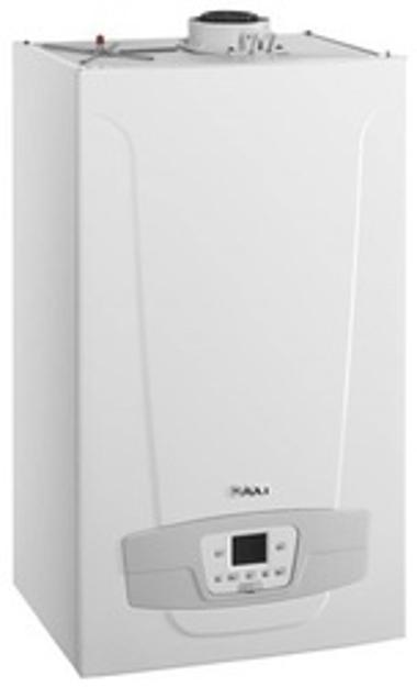 BAXI LUNA DUO-TEC + 33GA Λέβητας Αερίου με Καπνοδόχο και Προστατευτικό Κάλυμμα JB