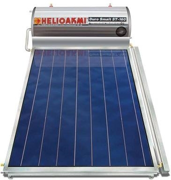 Ηλιακοί Θερμοσίφωνες, HELIOAKMI MEGASUN 160 / 2,62m², Glass Επιλεκτικής Επιφάνειας Τιτανίου Τριπλής Ενέργειας