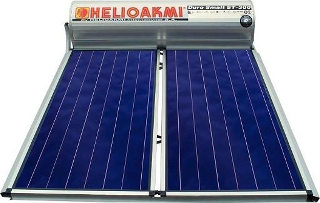 Ηλιακοί Θερμοσίφωνες, HELIOAKMI MEGASUN 200 / 4,20m², Glass Επιλεκτικής Επιφάνειας Τιτανίου Τριπλής Ενέργειας