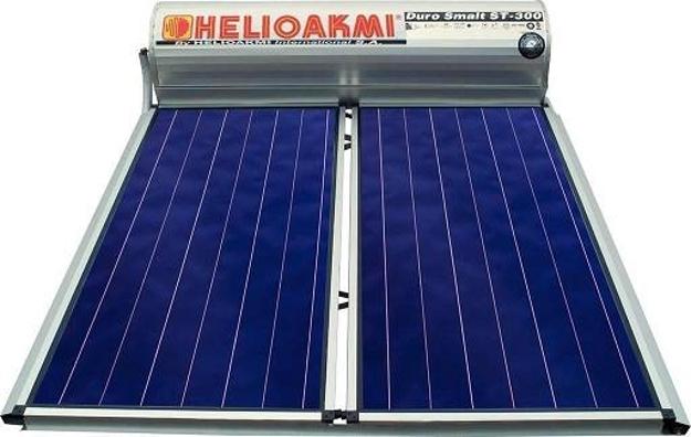 Ηλιακοί Θερμοσίφωνες, HELIOAKMI MEGASUN 300 / 5,24m², Glass Επιλεκτικής Επιφάνειας Τιτανίου Τριπλής Ενέργειας