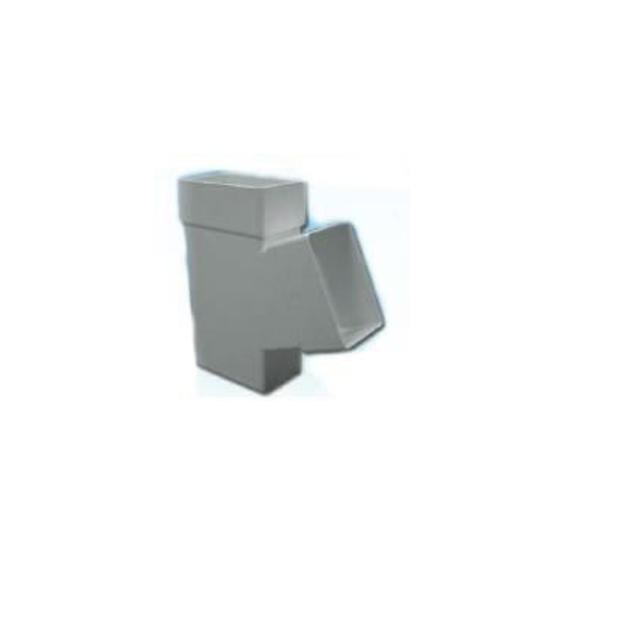 Πλαστικό Hμιτάφ Πλάγιο Υδροροής 6x10 x 6x10