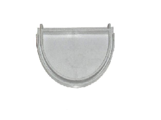 Γκρι Τάπα Πλαστικών Σωλήνων Ανοικτής Υδροροής Φ125