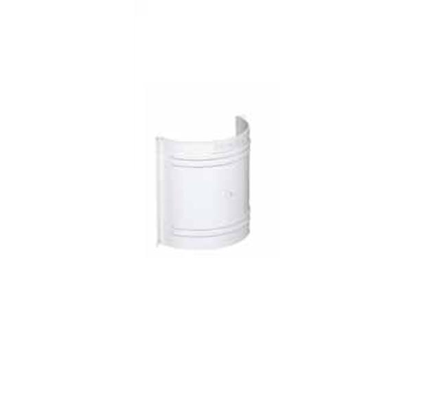Λευκή Μούφα Πλαστικών Σωλήνων Ανοικτής Υδροροής Φ125