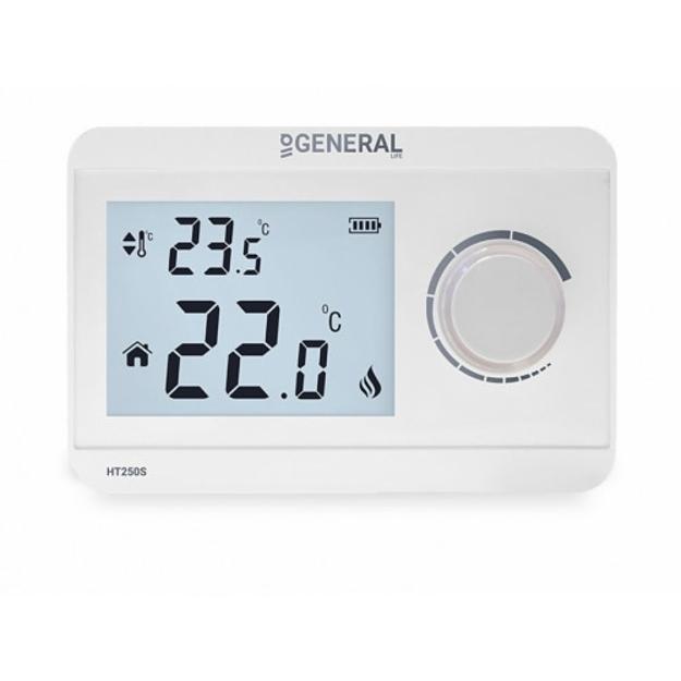 Ηλεκτρονικός Θερμοστάτης Χώρου GENERAL HT 250S