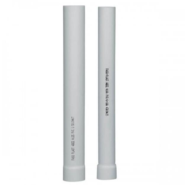 Σωλήνας Αποχέτευσης PVC - U UNIFAS Φ140 x 3,5 mm, FASOPLAST