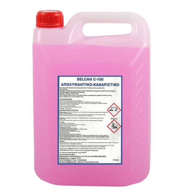 Απολυμαντικό Καθαριστικό BELCAN C-100 4lt