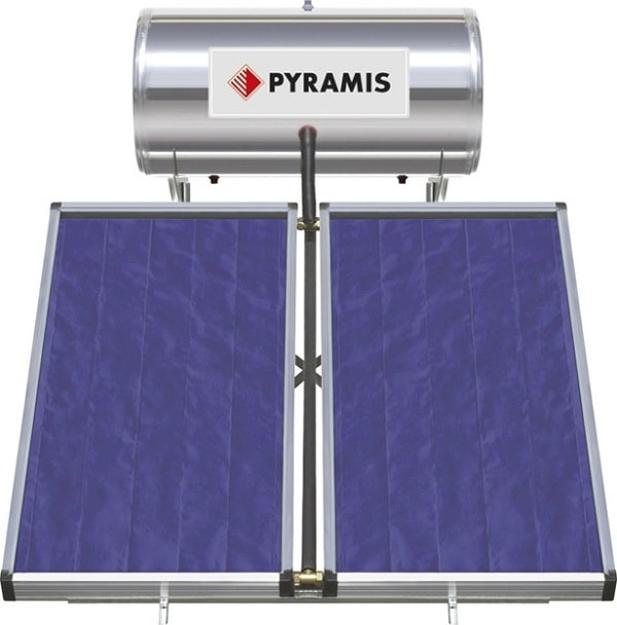 Ηλιακός Θερμοσίφωνας 026000405 Pyramis 160Lt / 3m²