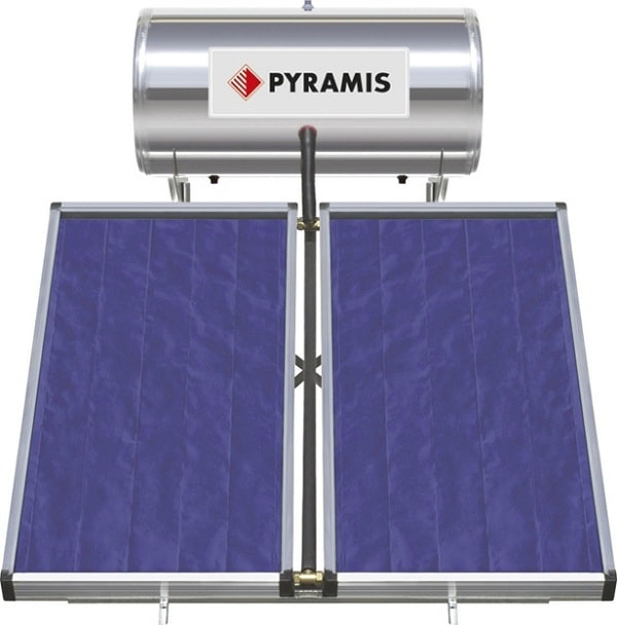 Ηλιακός Θερμοσίφωνας 026000505 Pyramis 200lt / 3m²