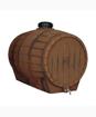 Βαρέλι Κρασιού 150Lt με Ορειχάλκινη Κάνουλα