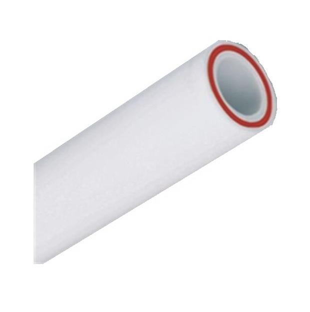 Λευκή Σωλήνα PPR Φ50 x 6,9 με Υαλόνημα INTERPLAST