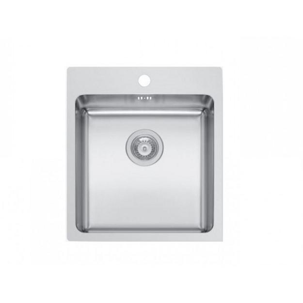 Pyramis Νεροχύτης 101061301 1B 45x50,5cm Inset Ledge