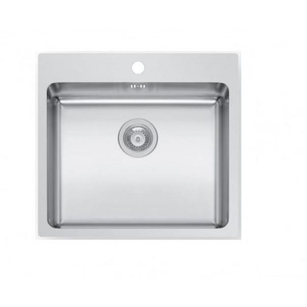 Pyramis Νεροχύτης 101061401 1B 55x50,5cm Inset Ledge